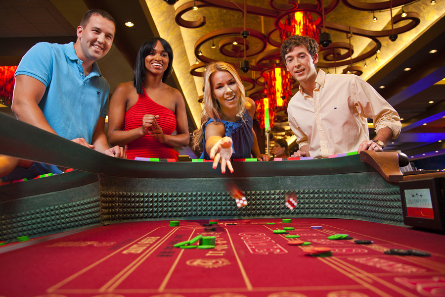 Typical Craps Table in Palace Casino Resort